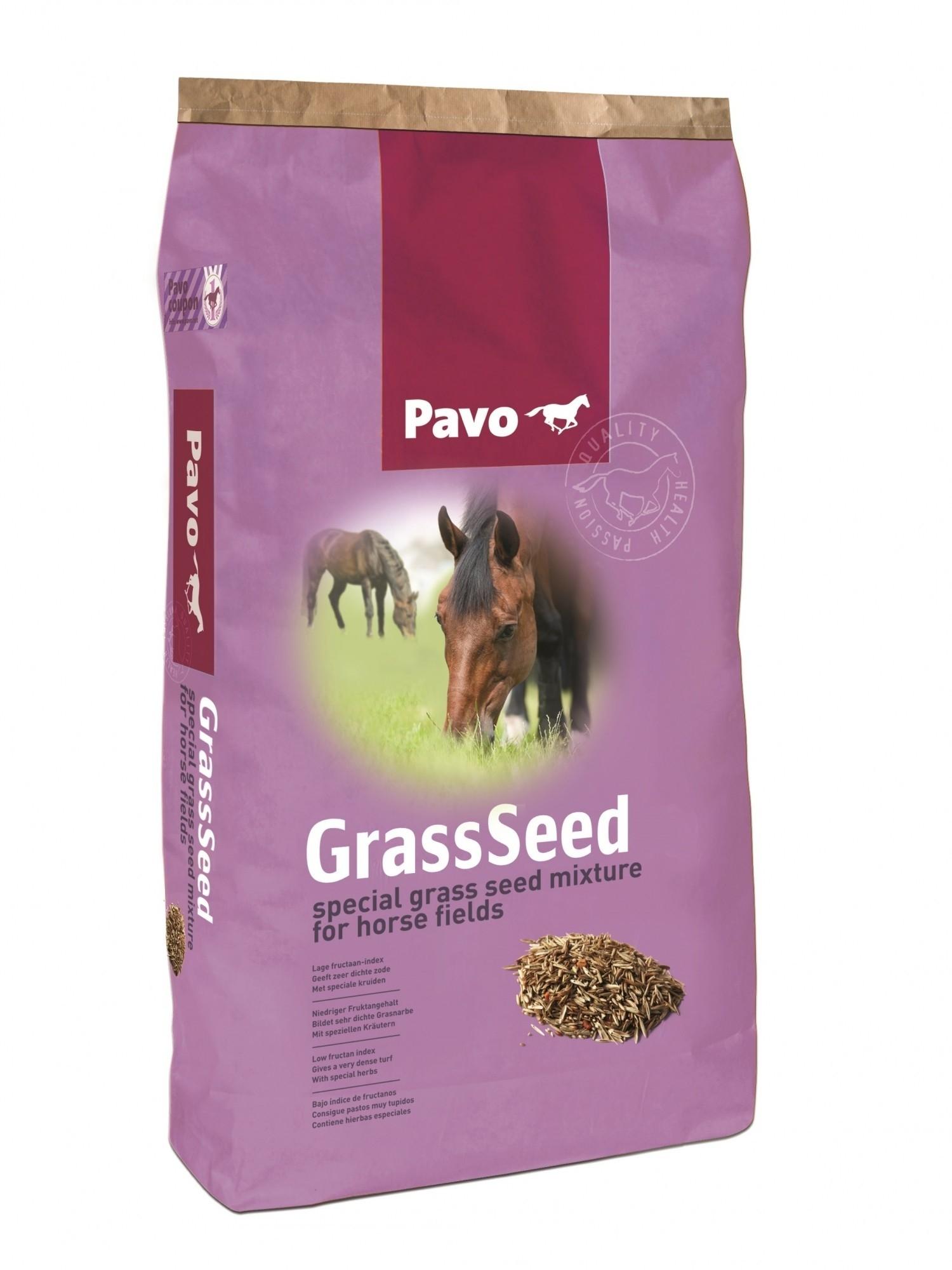 Pavo graszaad voor paardenweide met kruiden 15kg