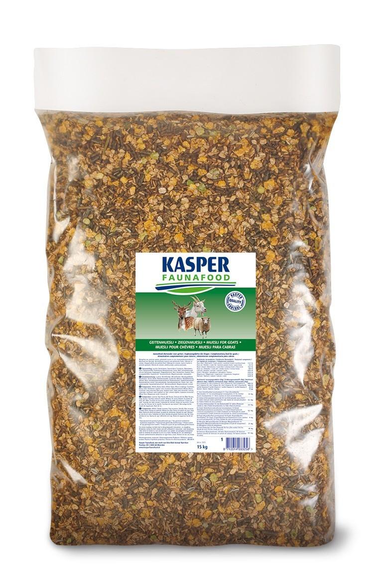 Geitenmuesli Kasper Faunafood 15kg
