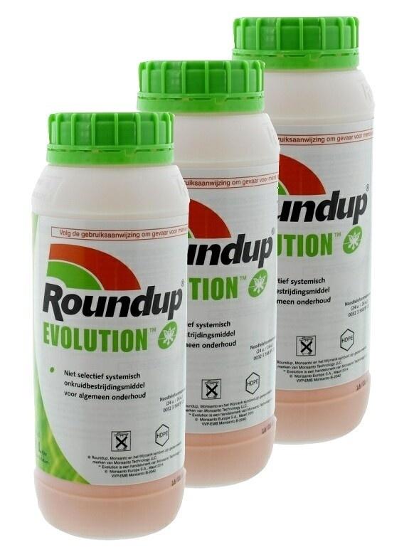Roundup Evolution 3 x 1ltr