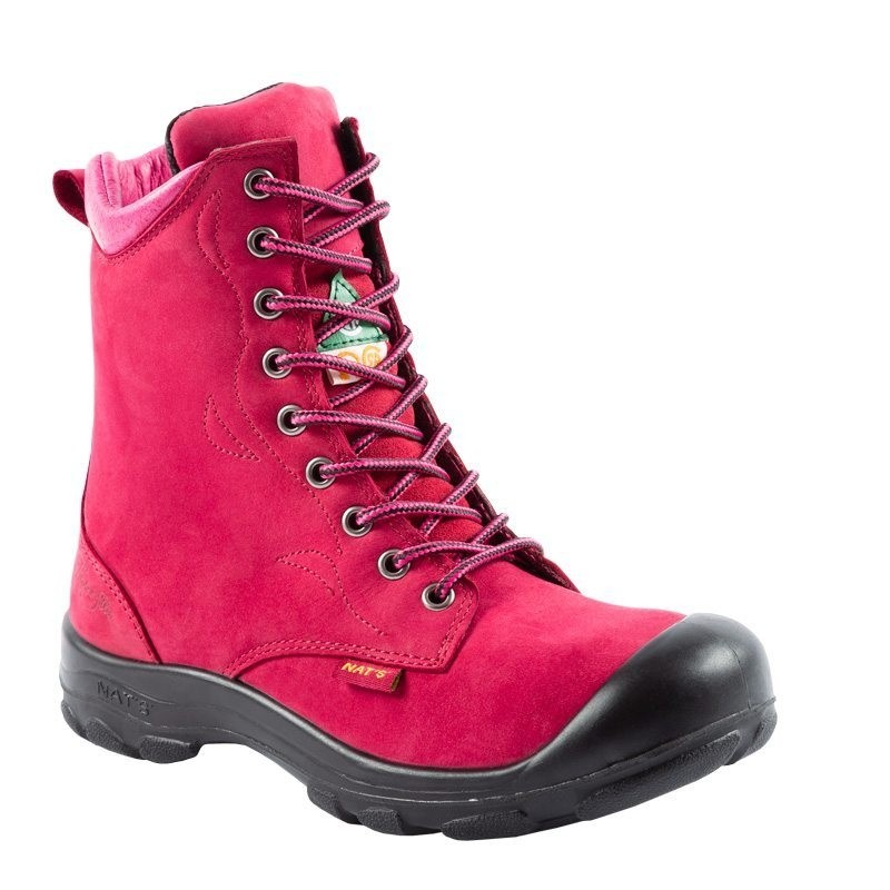 Vrouwen Werkschoenen.Werkschoenen Voor Dames Online Kopen Lady Line Framboos