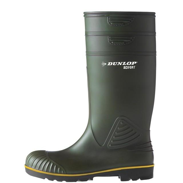 Werklaars Dunlop Acifort knie groen