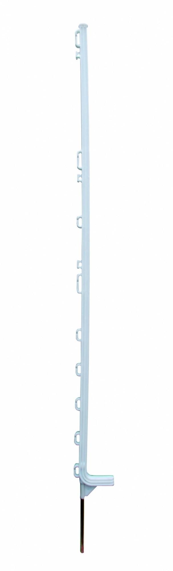 Horizont kunststof paal Extra wit 12-ogen 142cm