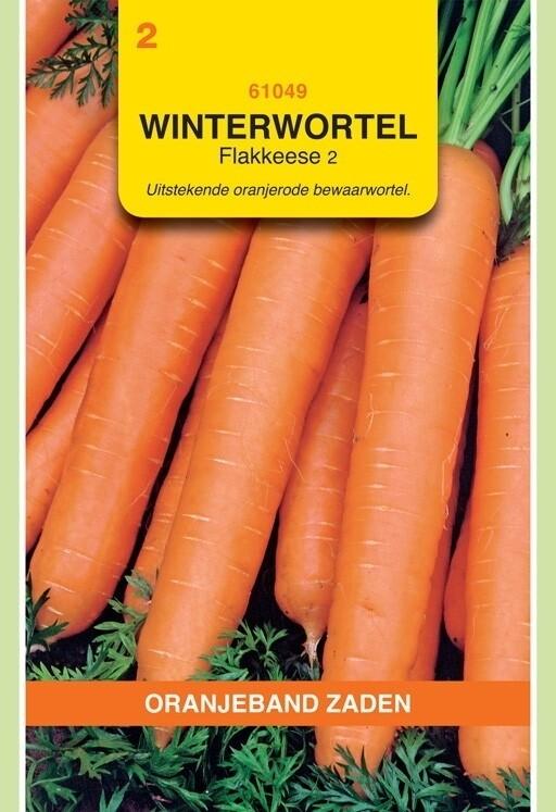 Winterwortelen Flakkeese 2 Oranjeband