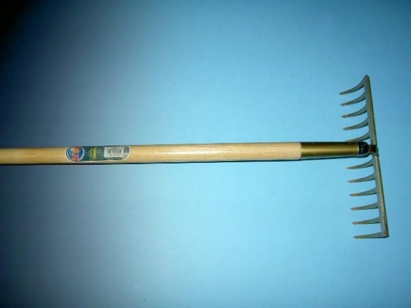 Tuinhark Offner 12 tands met steel 170cm