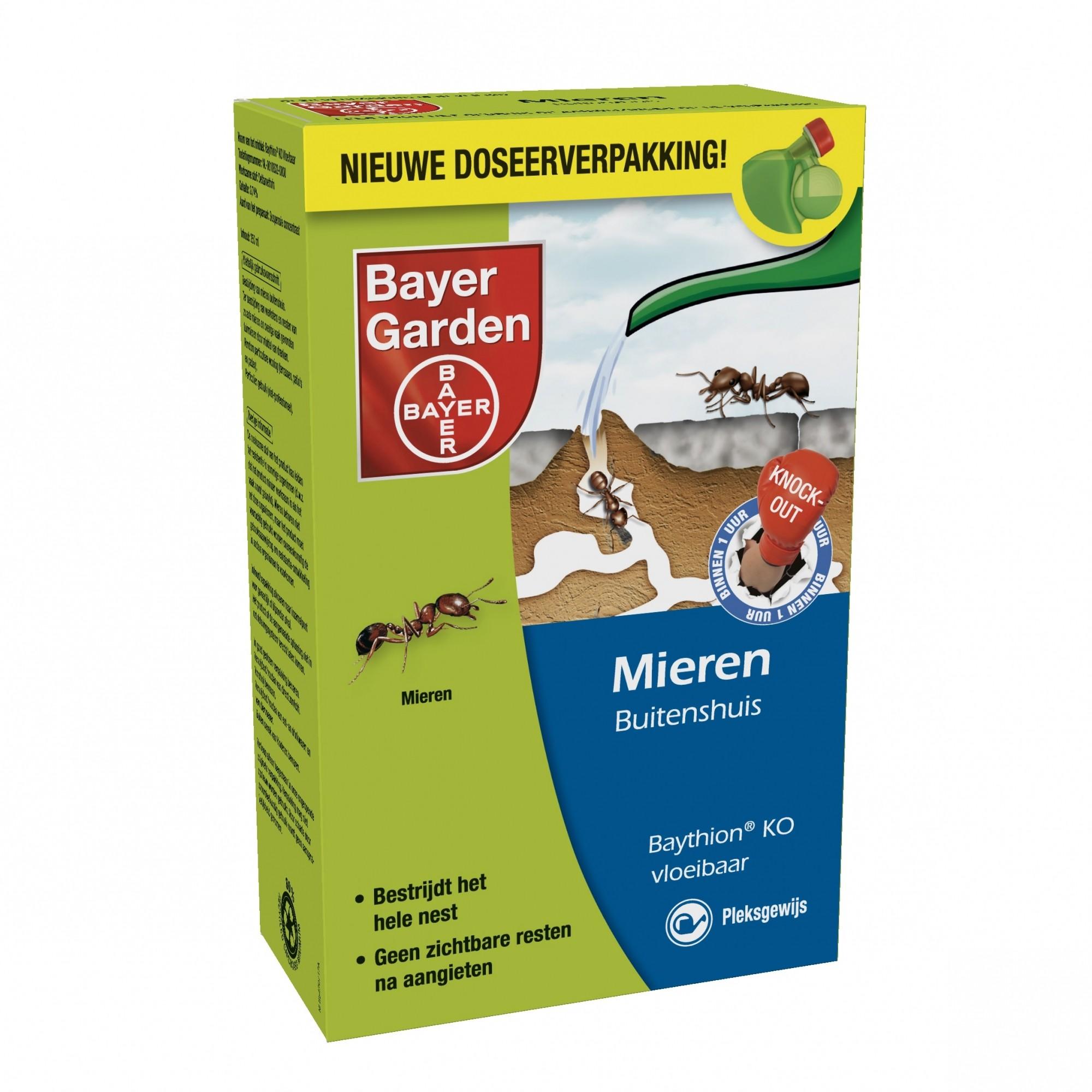 Bayer Baythion KO vloeibaar tegen mieren + gratis gieter