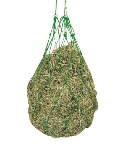 Hooinet groen met ophangringen