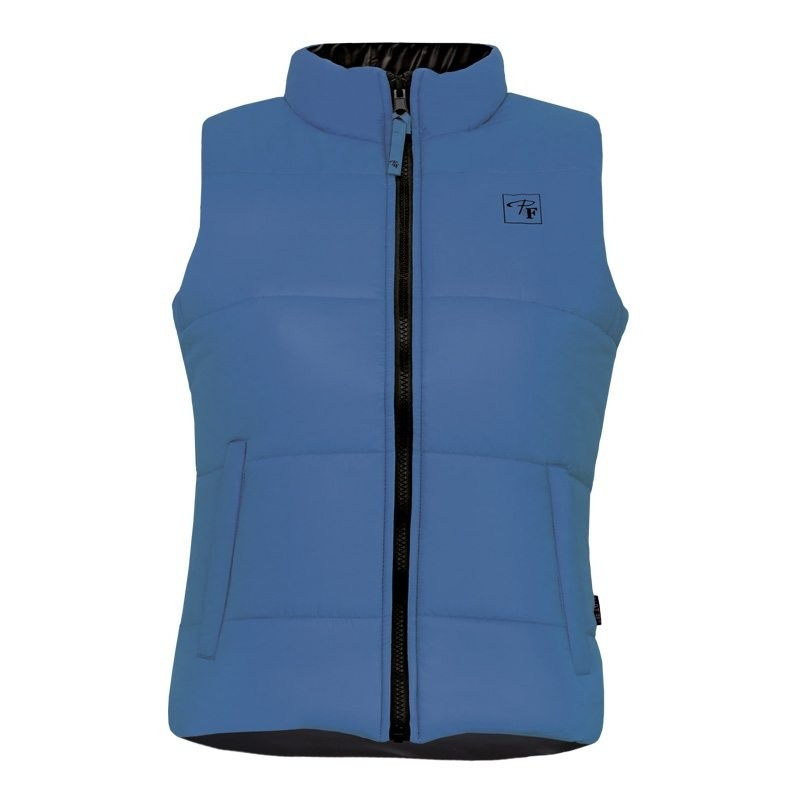 Dames bodywarmer Lady Line blauw
