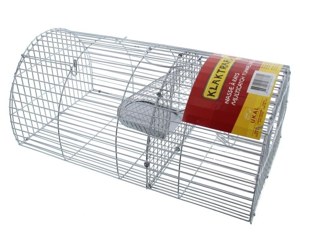 Ratten vangkooi Klaktrap