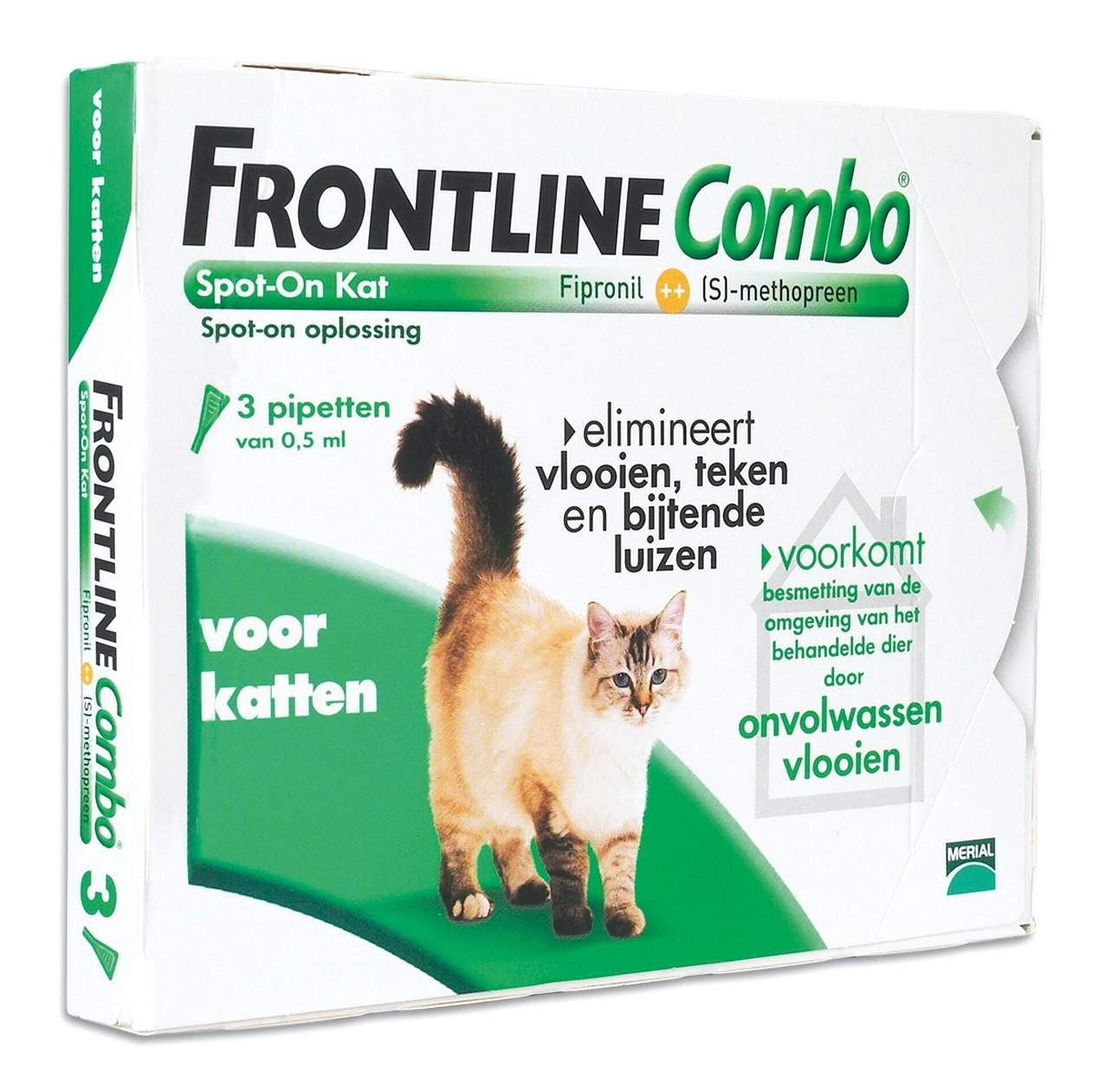 Frontline Combo spot on kat 3 pipet