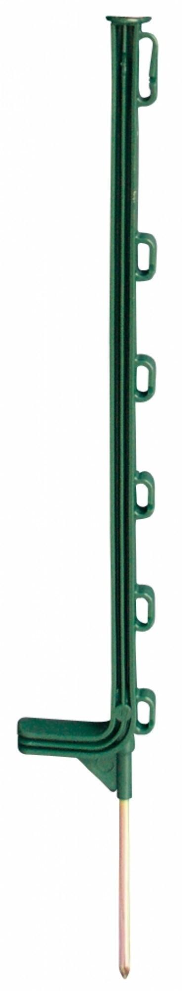 Horizont kunststof paal Extra groen 6-ogen 75cm
