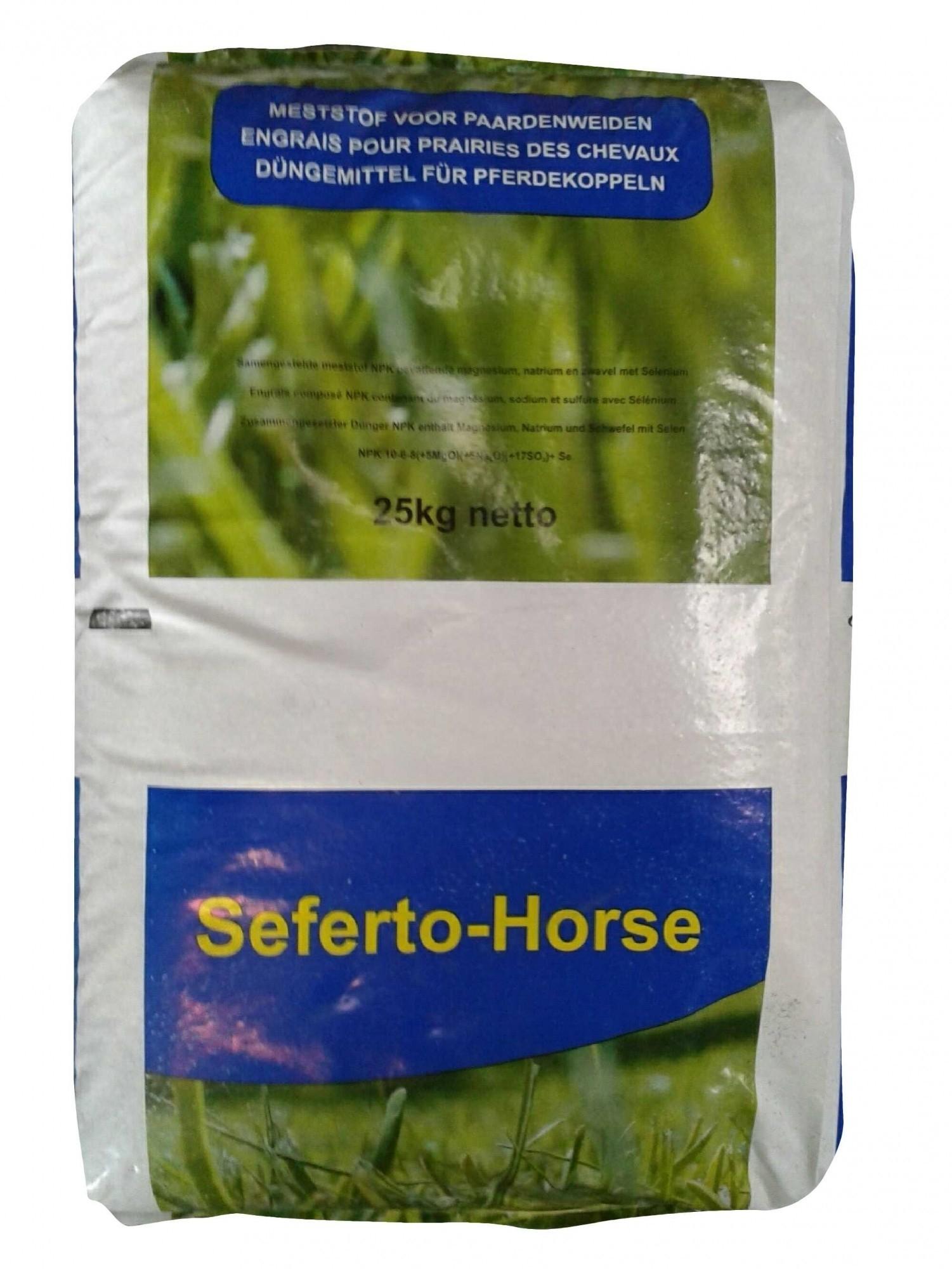 Kunstmest voor de paardenweide Seferto Horse 25kg