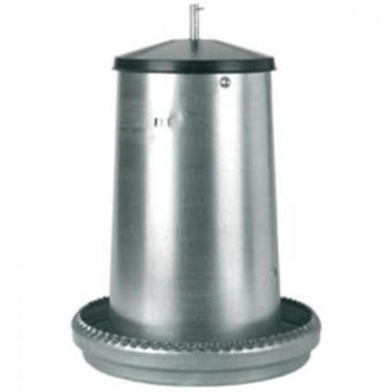Kippenvoer silo verzinkt 18kg