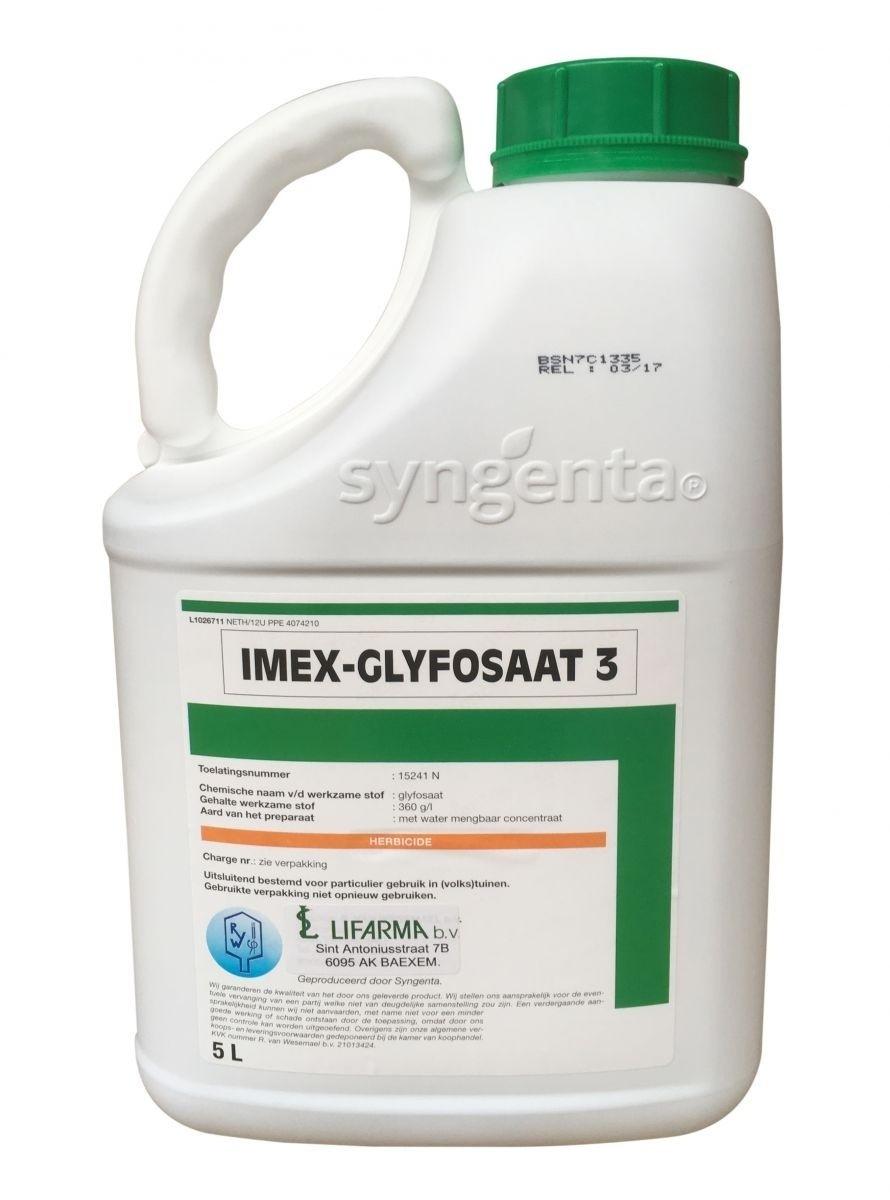 Glyfosaat-3 Imex 5ltr