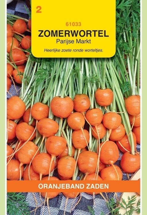 Zomerwortelen Parijse Markt 2 Oranjeband