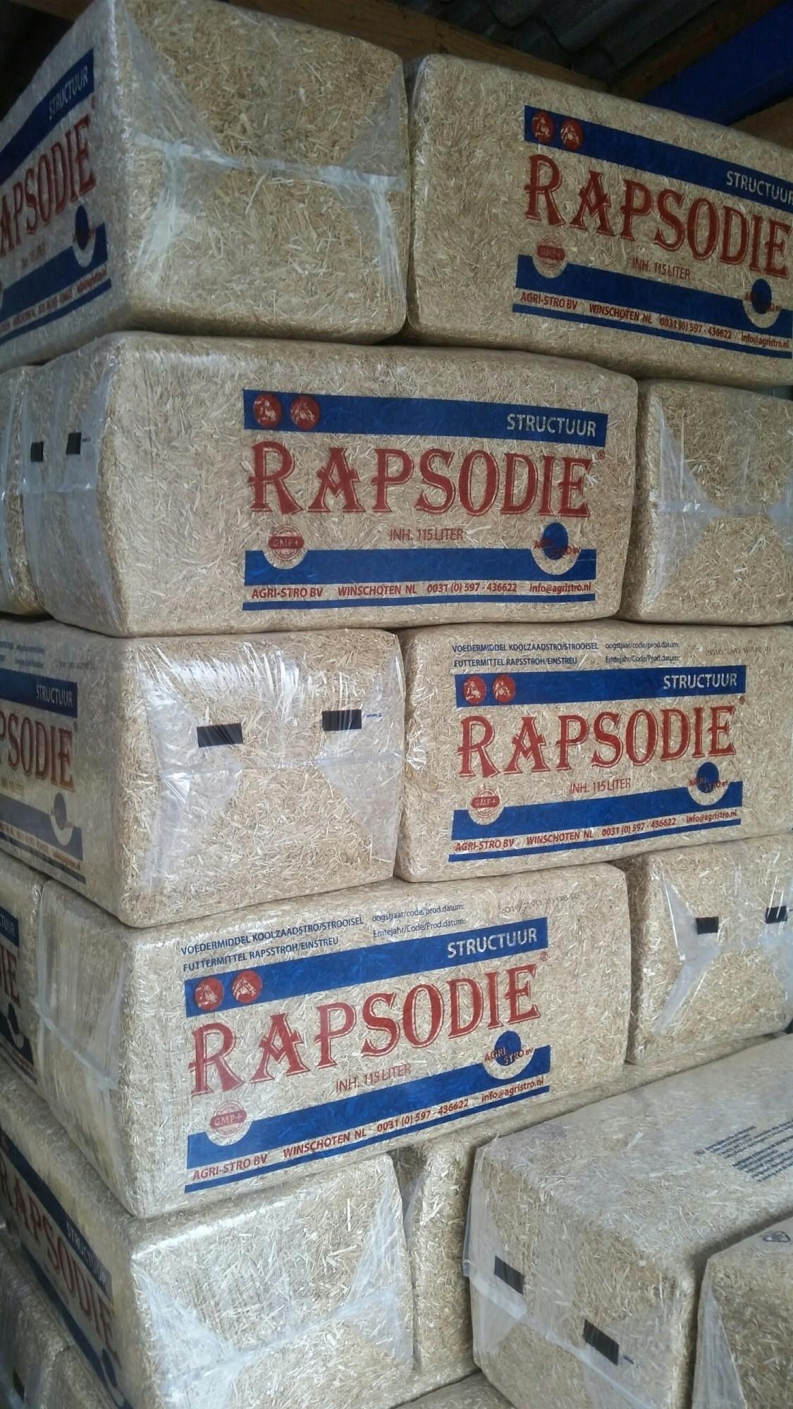 Rapsodie koolzaad strooisel 20kg 24 stuks