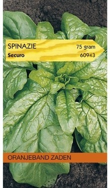 Spinazie Securo (rondzadig) 75 gram Oranjeband
