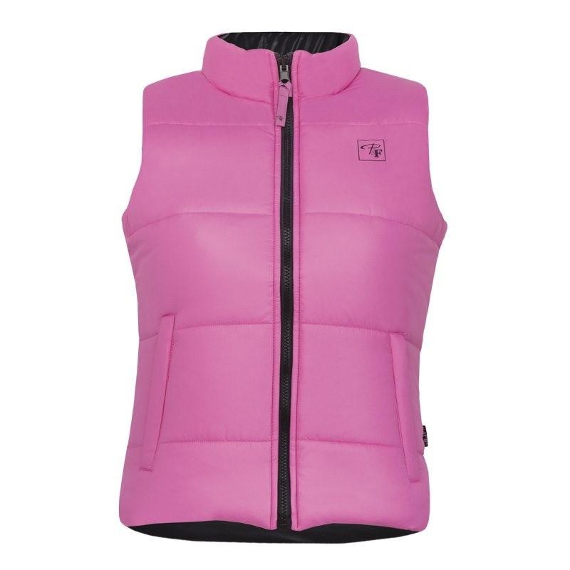 Dames bodywarmer Lady Line roze