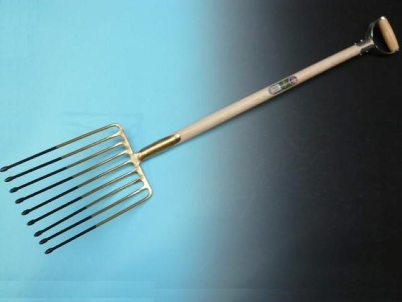 Aardappelvork Offner 9 tands met veerdul en YD-steel 95 cm