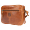 Afbeelding van Leather Design Schoudertas DO20-821 Tobacco