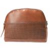 Afbeelding van Leather Design Schoudertas DO20-A12 Tobacco
