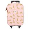 Afbeelding van Kidzroom Trolley Koffer Cuddle Pink