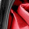 Afbeelding van Socha Business Bag Silvertip Croco Black 15.6