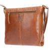Afbeelding van Leather Design Schoudertas DO20-1419 Tobacco