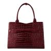 Afbeelding van Socha Businessbag Crocodile Burgundy - 14