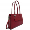 Afbeelding van Claudio Ferrici Classico Handbag 18006 Red