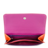 Afbeelding van Mywalit Double Flap Purse/Wallet Sangria Multi