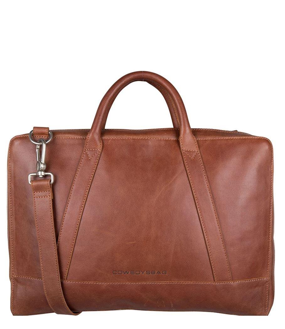 Cowboysbag Business Laptop Bag Holden 15.6 inch 2212 Cognac