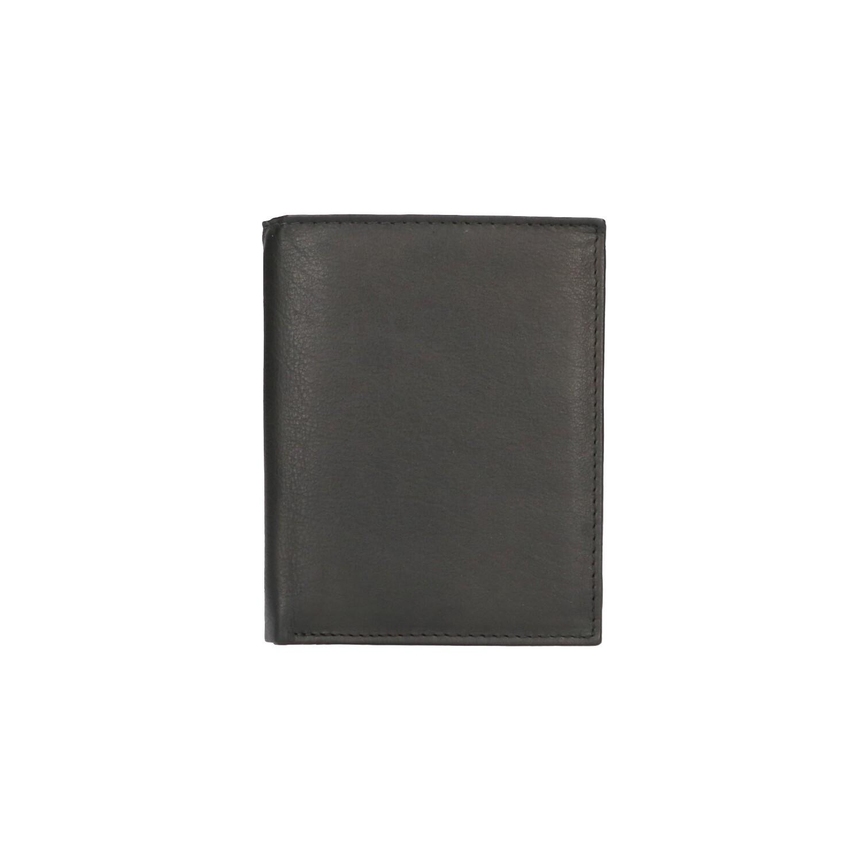 Leather Design Billfold CN 160 Zwart
