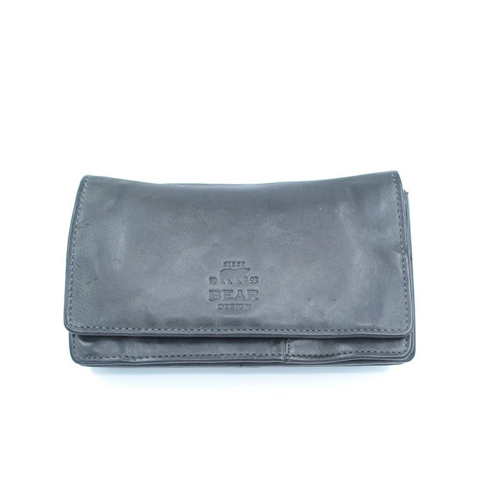 Bear Design Dames Portemonnee 'Gilda' CL782 Blauw