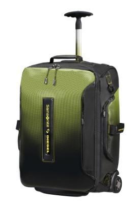 Samsonite Paradiver X Diesel Duffle/Wh 55/20 Backpack Black/Yellow