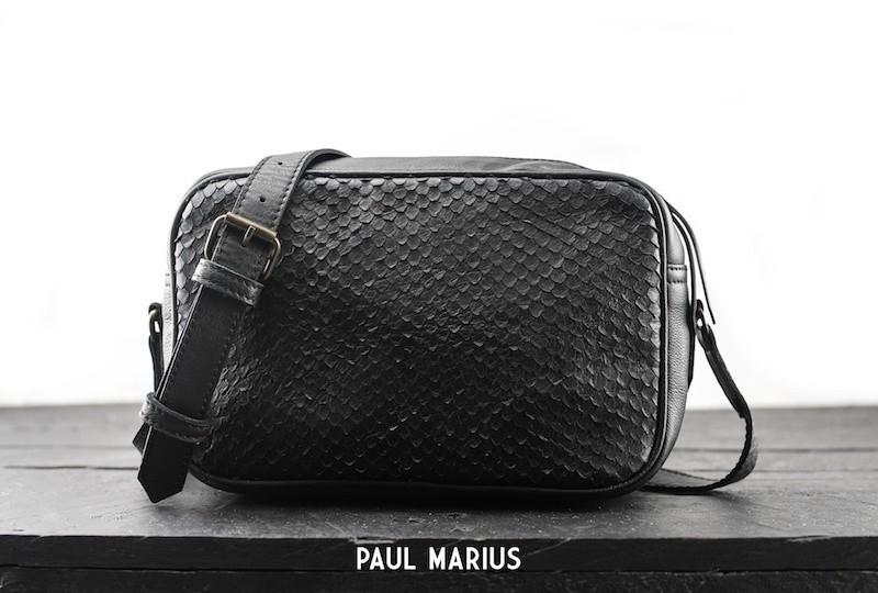 Paul Marius L'Impertinent Ecailles Black
