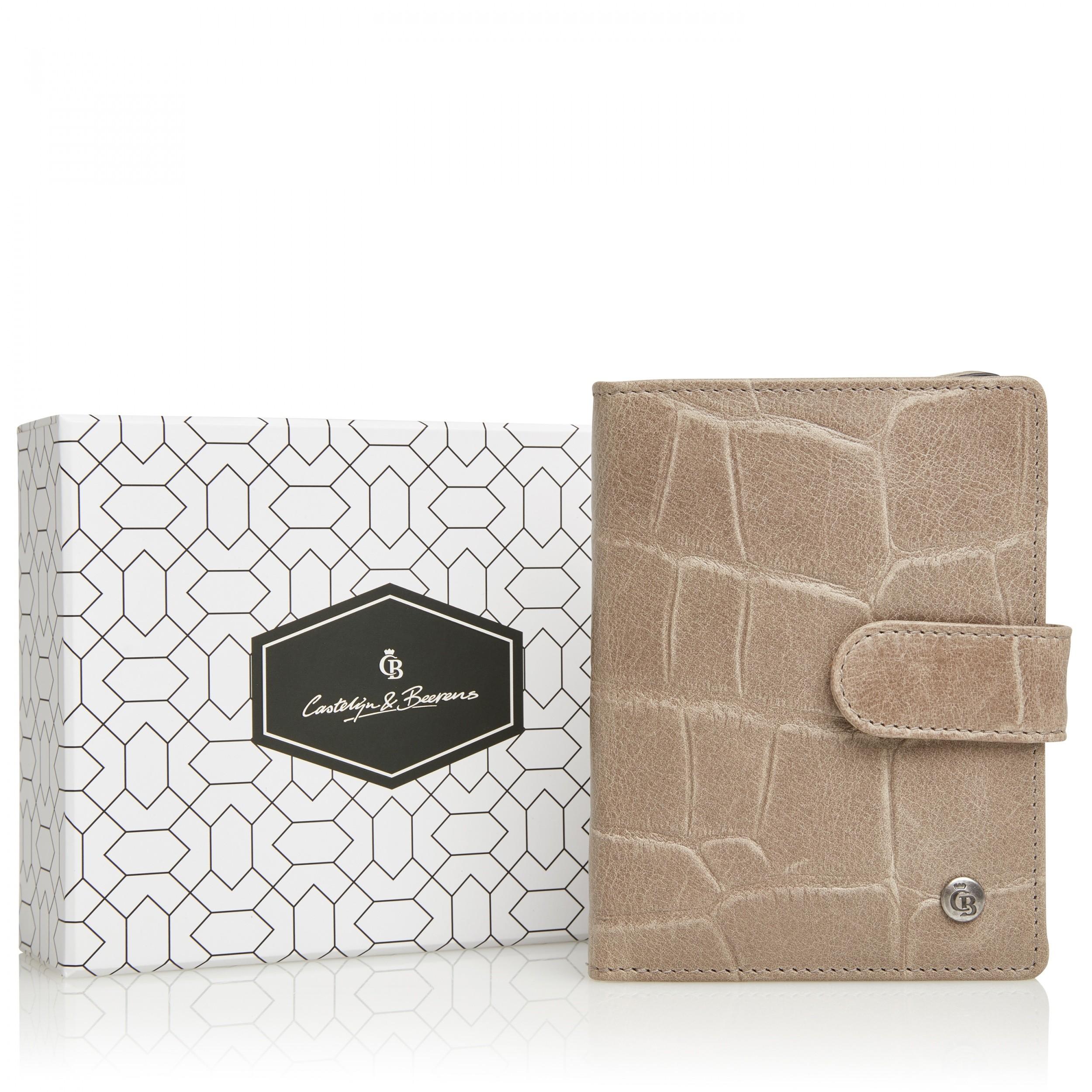 Castelijn & Beerens 80 5415 Giftbox Ritsportemonnee RFID Taupe