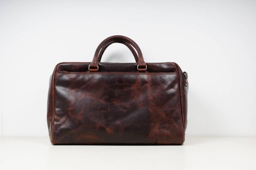 Arpello Old School 6.1773 Travel Bag Brandy