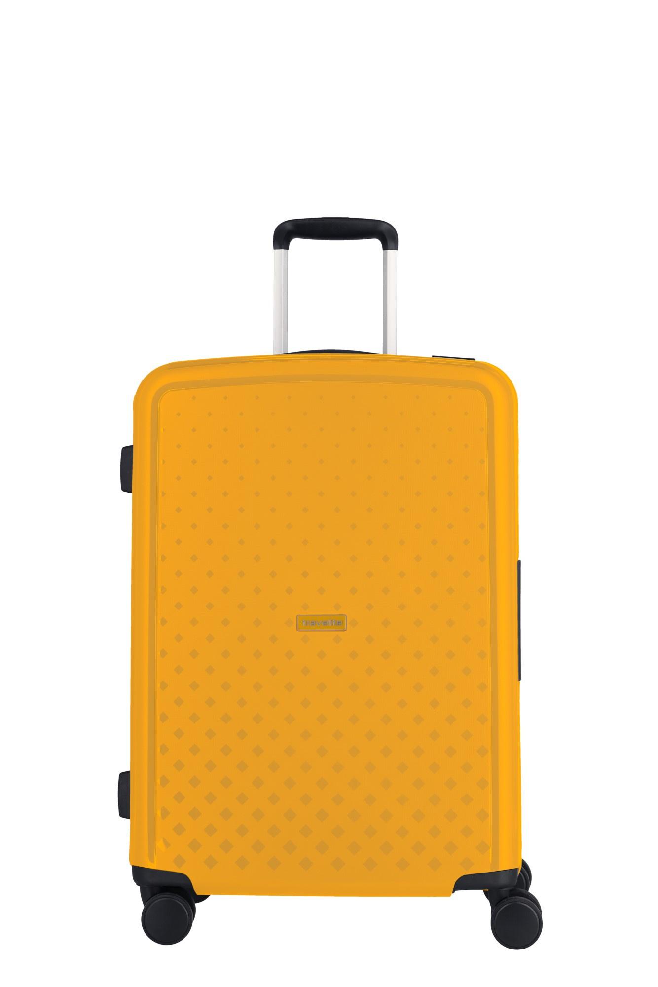 Travelite Terminal 4 Wiel Trolley M 076048 Yellow