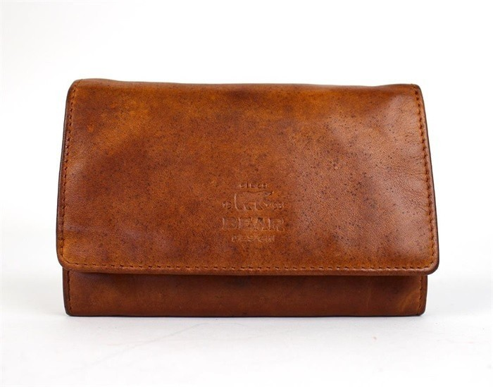 Bear Design Dames Portemonnee CL15572 Cognac