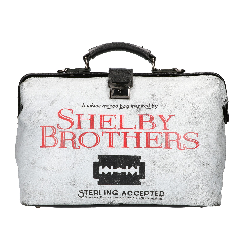 Shelby Brothers by Orange Fire Bookiebag 1919 Zwart