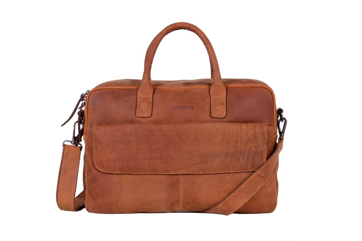 DSTRCT Business Bag 076420 Cognac