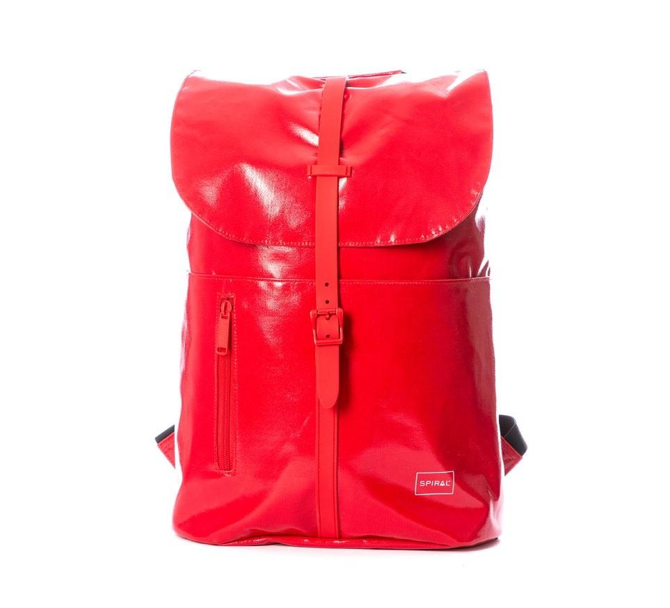 Spiral Tribeca Backpack Tarpaulin Red
