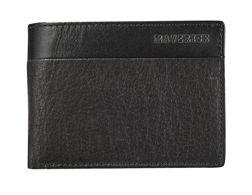 Maverick Texas Super Compact Billfold RFID Zwart
