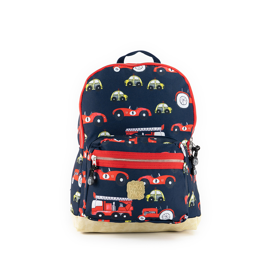 Pick & Pack Cars Backpack M Navy