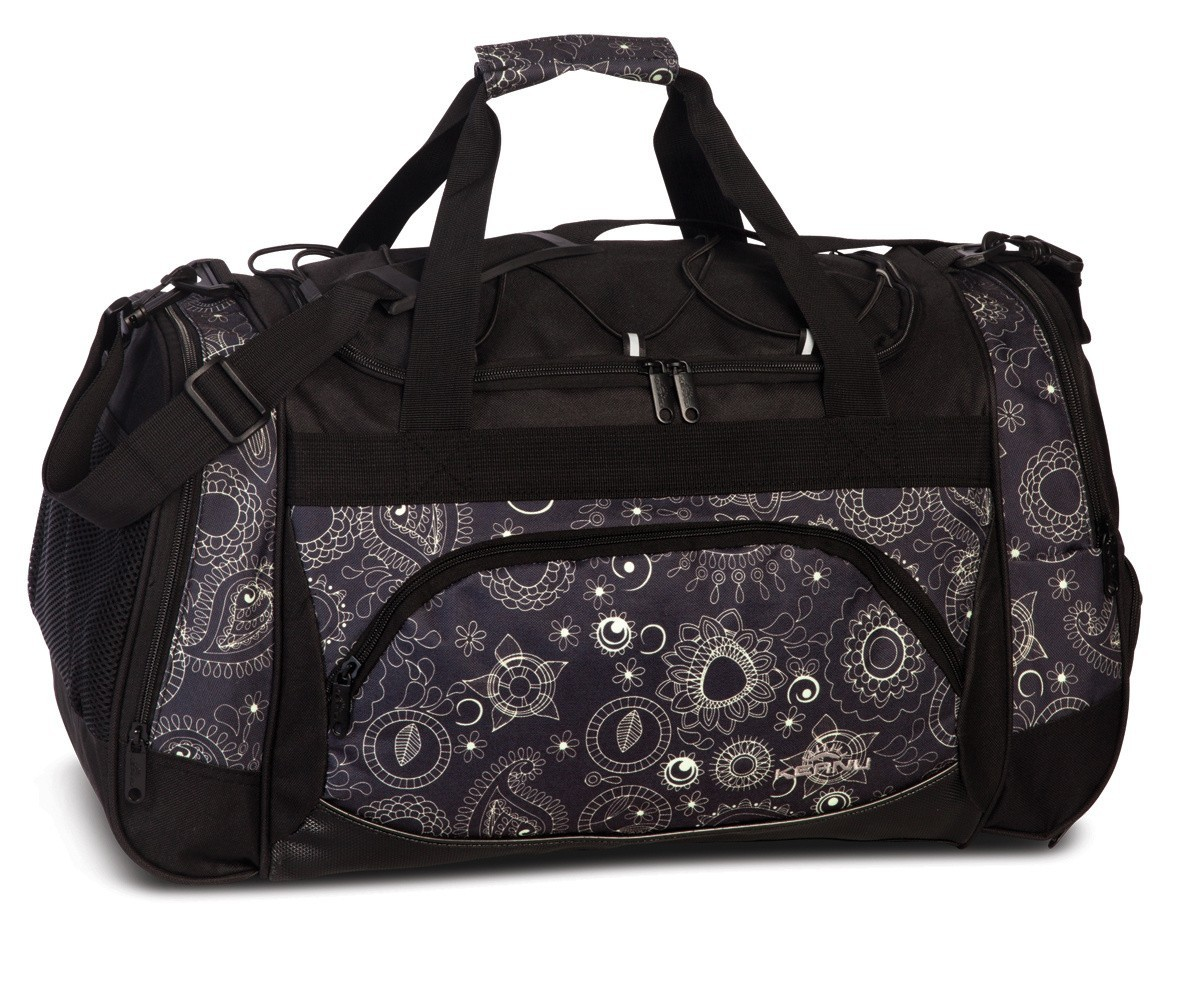 Keanu Sports Bag 70700 Black Jacquard