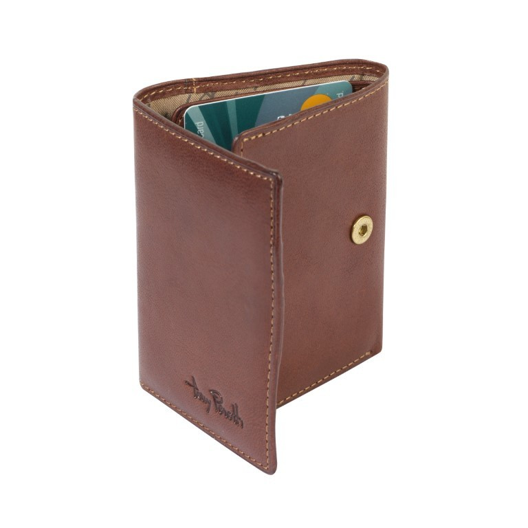 Tony Perotti - Furbo Pure portemonnee met bankbiljetvak - Donker Bruin