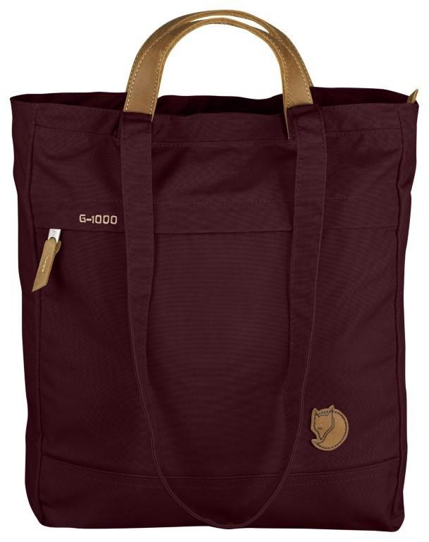 Fjällräven Totepack No.1 Schoulderbag/Backpack F24203 Dark Garnet