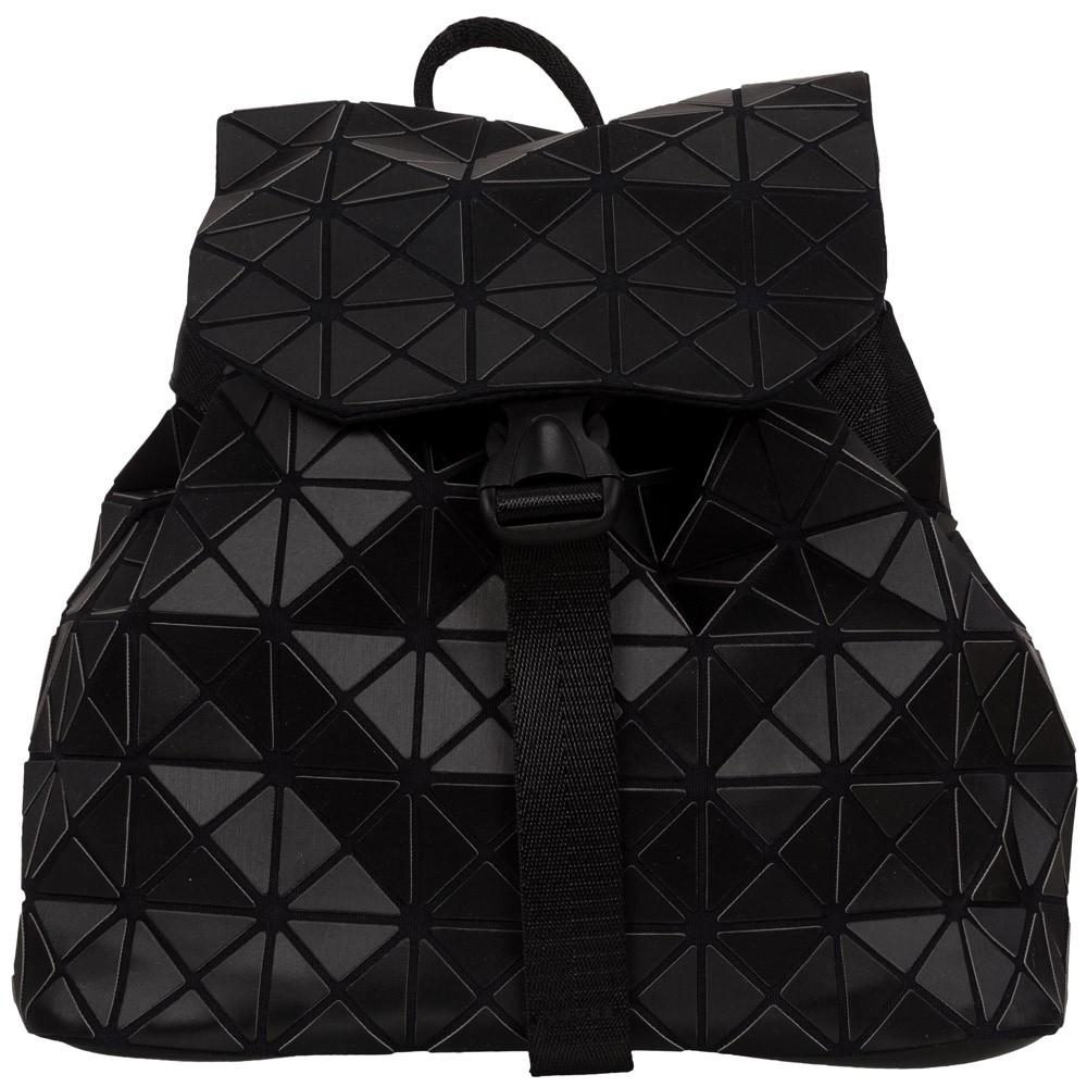 Malique Geometrical Rugtas 855 Mat Zwart