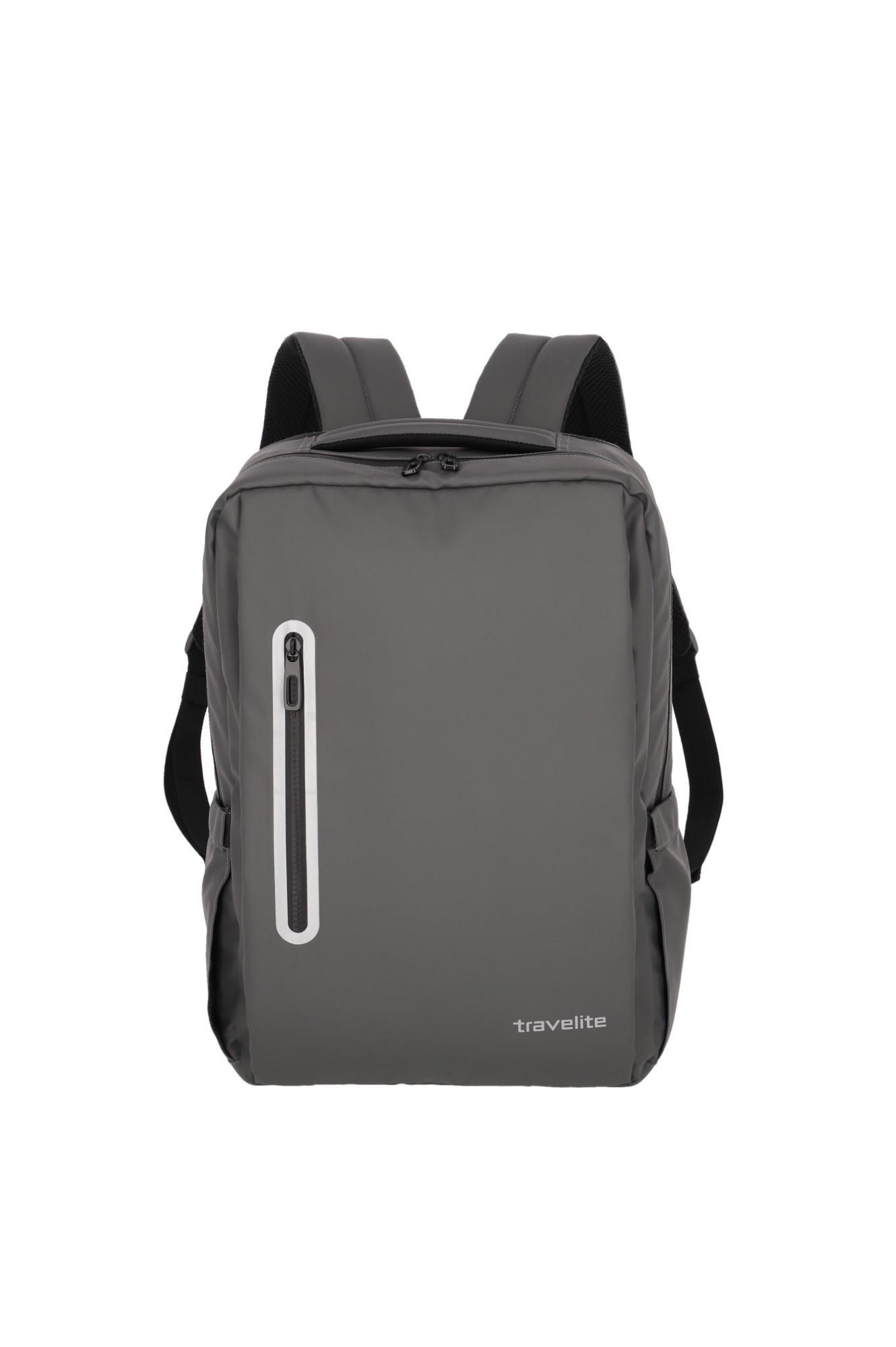 Travelite Basics Boxy Rugtas 96341 Antraciet