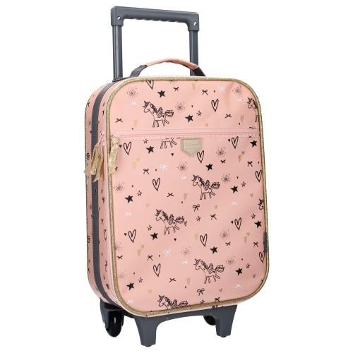 Kidzroom Trolley Koffer Fearless Pink